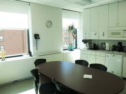 40 Fulton Street New York NY Windowed kitchen-lunch room