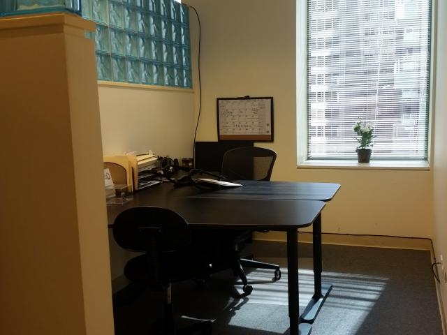 70 East Lake St. Chicago IL Workstation with wndow
