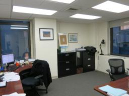 1 Large Corner Office For Up To 4 People, in a Grand Central/Bryant Park Law Firm With Competitive Rental