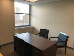 2 LARGE PARTNER WINDOW OFFICES WITH VIEWS AND 2 WORKSTATIONS WITHIN LAW FIRM AT 39 BROADWAY.