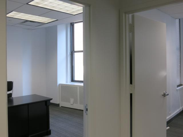 32 Broadway New York NY Doorway into large office