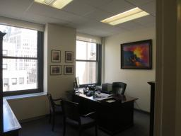 Priced To Rent Immediately - PRIVATE WINDOWED OFFICE WITH GREAT NATURAL LIGHT, IN A BOUTIQUE FIRM'S SMALL AND COLLEGIAL YET ELEGANT SUITE.