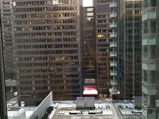 70 East Lake St. Chicago IL View from Office and Workstation