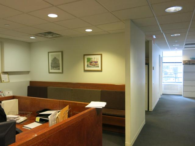 641 Lexington Avenue New York NY Reception area