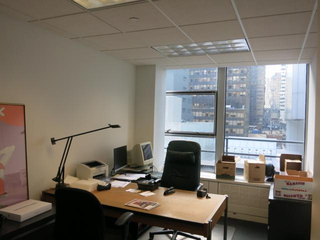 641 Lexington Avenue New York NY Another office - great light!