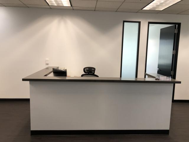 500 N. Central Ave. Glendale CA Reception Desk
