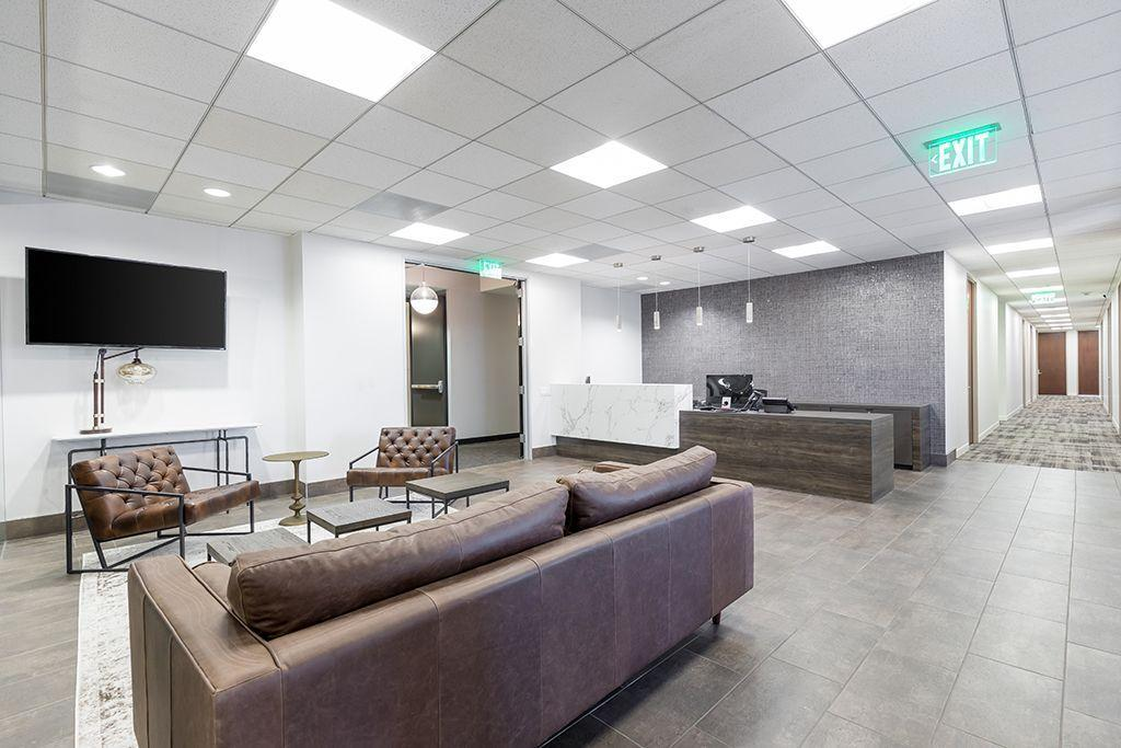 355 S. Grand Ave Los Angeles CA Reception and waiting area