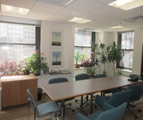 3 Adjacent Offices In Columbus Circle Law Firm For Rent